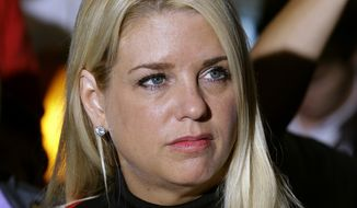 Florida Attorney General Pamela Bondi and other state officials are reviewing the decision by the 11th Circuit Court of Appeals to allow gay marriage to go forward in Florida.   (AP Photo/Chris O'Meara)