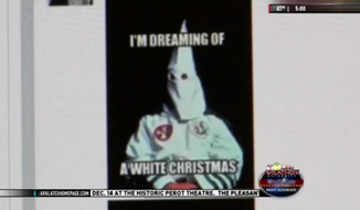 The Hooks Independent School District in Texas is mulling disciplinary action for one of its board members after he posted an image online that was supportive of the Klu Klux Klan. (KTAL-TV)