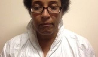 Rita Narcissa Sanders-Campfield, 53, was charged with first-degree murder in connection with the death of 67-year-old Chong Park. Police said Ms. Sanders-Campfield believed Ms. Park was evil and practicing witchcraft. (Photo courtesy of Montgomery County Police Department)