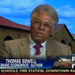 """Economist Thomas Sowell said Tuesday night that the """"hands up, don't shoot"""" rallying cry out of Ferguson that has since been adopted by members of the Congressional Black Caucus reminds him of the """"big lie"""" doctrine favored by Adolf Hitler's propaganda czar, Joseph Goebbels. (Real Clear Politics)"""