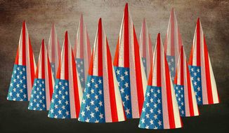 American Dunce Illustration by Greg Groesch/The Washington Times
