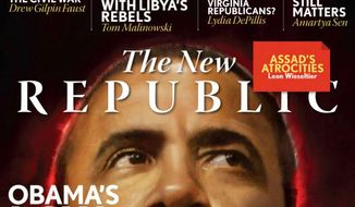 A recent cover from The New Republic