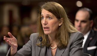 Health and Human Services Secretary Sylvia Mathews Burwell (Associated Press) ** FILE **