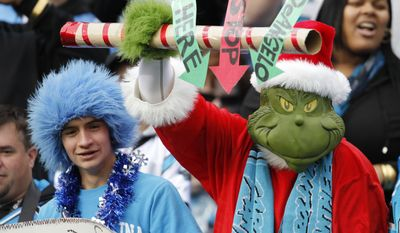 The atheist, ere, the Grinch, is back. (AP Photo/Bob Leverone)