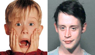 MACAULAY CULKIN - in 2004, the Home Alone star was arrested for marijuana possession. After appearing in court the following year, the actor also pleaded guilty to charges of having medication without a prescription.