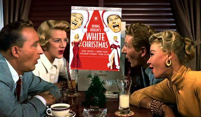 Irving Berlin's White Christmas: Diamond Anniversary Edition is on Blu-ray. (Courtesy of Paramount Home Entertainment)