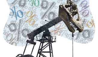 Carbon Tax Fossil Fuel Illustration by Greg Groesch/The Washington Times