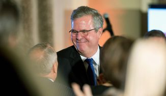Former Florida Gov. Jeb Bush appears to be edging closer to announcing a White House run. (Associated Press)