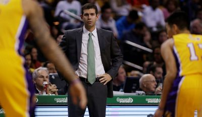 Brad Stevens is in his second season as coach of the Boston Celtics after leading Butler to two Final Fours.