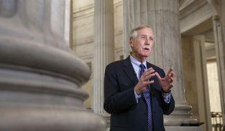 Senate Intelligence Committee member, Sen. Angus King, I-Maine, defends the panel's planned release of a report on the CIA's harsh interrogation techniques, Tuesday, Dec. 9, 2014, during a TV news show interview on Capitol Hill in Washington. (AP Photo/J. Scott Applewhite) ** FILE **