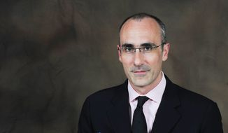 American Enterprise Institute president Arthur Brooks on Thursday moderates a discussion about conservatism in the 114th Congress. (American Enterprise Institute)
