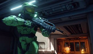 Xbox One owners will dive into Halo: The Master Chief Collection from Microsoft Studios.
