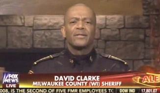 Milwaukee's tough-talking sheriff, David Clarke. (Fox News via The Daily Surge) ** FILE **