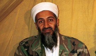 The late al Qaeda leader Osama bin Laden (Associated Press) ** FILE **