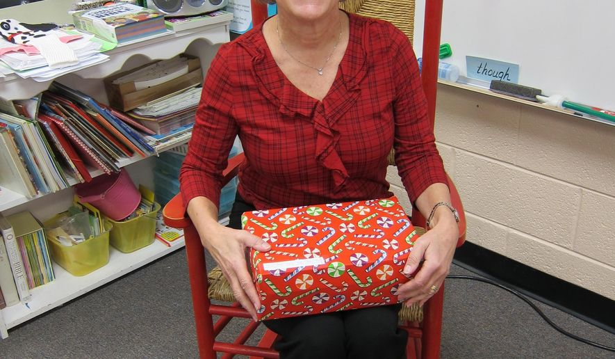 math worksheet : teacher helps provide christmas ts for outreach  washington times : Christmas Gifts For 2nd Grade Teachers