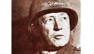 Gen. George S. Patton       Illustration by Greg Groesch/The Washington Times