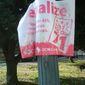 Campaign signs seen Dec. 15 are still posted around the District. The city should send out eight, single-member patrols to each wards to log and capture campaign scofflaws. The campaigns and the candidates must be held accountable. (Deborah Simmons/The Washington Times)