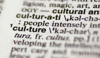 "This Tuesday, Dec. 9, 2014 photo shows the word ""culture"" in the Merriam-Webster's Collegiate Dictionary, in New York. Merriam-Webster has named ""culture"" its 2014 word of the year. (AP Photo/Richard Drew)"