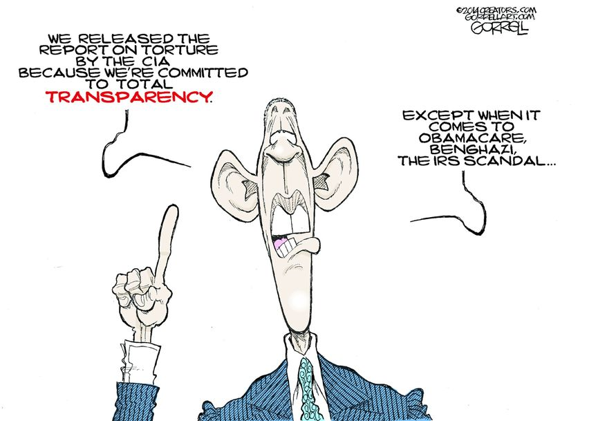Illustration by Bob Gorrell for Creators Syndicate