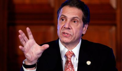 New York Gov. Andrew Cuomo said Wednesday he accepted the decision of the state Department of Environmental Conservation to ban high-volume hydraulic fracturing statewide as a result of a state health department review. (Associated Press)