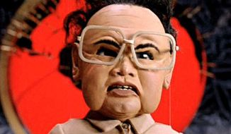 "Kim Jong-il in ""Team America: World Police"" in 2004."