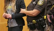 Two girls were arrested in the stabbing of a third girl in late 2014. They told detectives that the attack was an attempt to please Slender Man, a fictional character they found on a horror website. (Associated Press/File)
