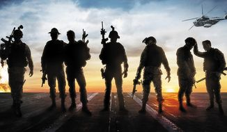 Poster for the movie Act of Valor.