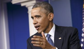 President Obama rejected Sunday the notion that Russia outmaneuvered the U.S. in a geopolitical chess match. (AP Photo/J. Scott Applewhite, File)
