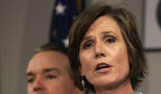 United States Attorney Sally Yates (Associated Press) **FILE**