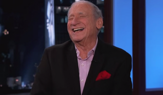 """Mel Brooks weighed in on the controversy surrounding Sony and the Kim Jong-un deprecating movie """"The interview,"""" joking that he at least waited until Hitler no longer posed a threat before directing """"The Producers."""" (YouTube)"""