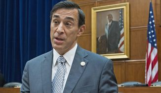 Rep. Darrell Issa, California Republican, released his painstaking review of 1.3 million pages of IRS documents and transcribed interviews conducted following revelations that the agency had targeted conservative groups. (Associated Press)