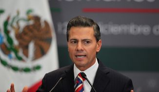 Mexican President Enrique Pena Nieto is under fire for doing little to uncover the whereabouts of 43 missing university students and facing accusations of cronyism. (Associated Press)
