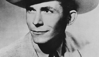 3. I'm So Lonesome I Could Cry by Hank Williams -This is an undated photo of Country and Western singer and guitarist Hank Williams. He was born in Georgiana, Al., in 1923 as Hiram King Williams, and he died of a heart attack in 1953. (AP Photo)