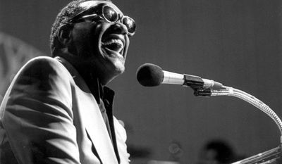 7. You Don't Know Me by Ray Charles -Ray Charles is shown in this March 16, 1979 photo. Charles, the Grammy-winning crooner who blended gospel and blues and heartfelt ballads like ``Georgia on My Mind,'' died Thursday, June 10, 2004 in Beverly Hills, Calif., a spokesman said. He was 73. (AP Photo)