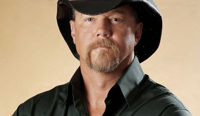 Country singer Trace Adkins will be a part of the All American New Year Wednesday night on Fox.  (Associated Press)