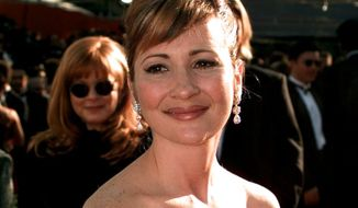 Christine Cavanaugh arrives for the 68th Academy Awards at the Music Center in Los Angeles, March 25, 1996. (Mark J. Terrill/AP Photo)