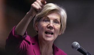 """Massachusetts Sen. Elizabeth Warren, a liberal star in the Democratic Party, is expected to champion the minimum wage issue when she delivers the keynote speech Wednesday at the AFL-CIO's """"Summit on Raising Wages,"""" where Labor Secretary Thomas Perez also is scheduled to speak. (Associated Press)"""