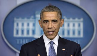 Conservatives increasingly are balking at the idea of granting President Obama any powers given his far-reaching executive actions, which included granting deportation amnesty to millions of illegal immigrants and re-establishing diplomatic relations with Cuba after the midterm elections. (Associated Press)
