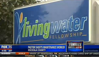 The pastor of Living Water Fellowship in Kissimmee, Florida, shot and critically wounded an employee in self-defense Tuesday morning, after the employee opened fire upon learning he was out of a job, police said. (FOX 35)