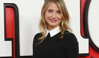 FILE - In this Dec. 16, 2014 file photo, actress Cameron Diaz poses for photographs during a photo call for the film Annie at the Corinthia hotel in central London. A spokesman for the actress confirmed Diaz married musician Benji Madden on Monday night, Jan. 5, 2015. Publicist Brad Cafarelli said the couple wed in an intimate ceremony at their Los Angeles home. (Photo by Joel Ryan/Invision/AP, File)