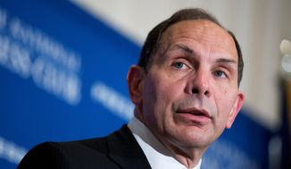 Veterans Affairs Secretary Robert McDonald, tapped to clean up the VA after reports of secret waiting lists and botched care, took office with a vow to protect whistleblowers. (Associated Press)