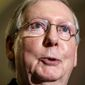 Senate Majority Leader Mitch McConnell is pursuing an ambitious agenda and says President Obama must encourage bipartisan solutions. (Associated Press)
