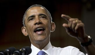 President Obama has issued a veto threat on the Keystone measure. He also promised to veto a bill to repeal Obamacare's 30-hour workweek definition and legislation that includes a two-year delay of Dodd-Frank financial reform regulations that require banks to segregate taxpayer-insured funds from money that the banks use for risky investments. (Associated Press)