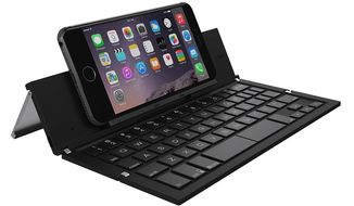 Folding Bluetooth Keyboard for the IPhone by Zagg