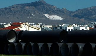 Greek Cypriots cast a suspicious eye on the Cypriot gas pipeline project, as the EU selected a plan that went out of its way to exclude Turkish participation. (associated press)