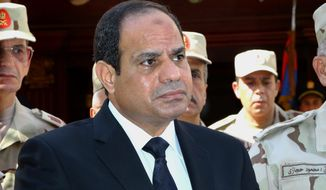 """""""We need to revolutionize our religion,"""" Egyptian President Abdel-Fattah el-Sissi said in a startling speech. (Associated Press)"""