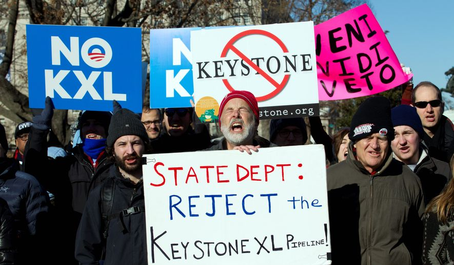 Pressure from both sides of the Keystone debate is mounting at the White House. President Obama had cited the Nebraska case as the reason why he intends to veto legislation approving the pipeline. (Associated Press)