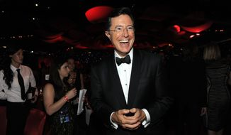 "CBS announced Monday that Stephen Colbert will take over the ""Late Show"" after Labor Day. He's replacing David Letterman, who is retiring and will have his last show on May 20. CBS will air reruns of prime-time programming in the time slot until Colbert starts. (Associated Press)"