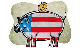 Investing in America Illustration by Greg Groesch/The Washington Times