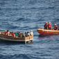 The Coast Guard has increased its patrols in response to a surge of Cubans trying to cross illegally to the U.S. Officials say many of the boats were put together hastily, making the perilous journey even more dangerous. (Associated Press)
